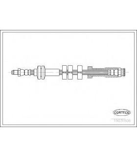 CORTECO 19031606 - Flessibile del freno