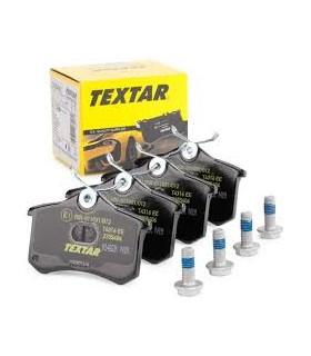 TEXTAR Kit pastiglie freno, Freno a disco  Non predisposto per contatto segnalazione usura, con bulloni pinza freno