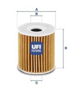 UFI Filtro olio  Numero articolo: 25.035.00