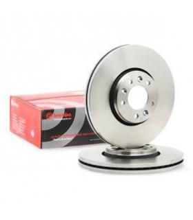 Disco freno BREMBO con bulloni/viti, Autoventilato 09.A430.10 (COPPIA)
