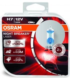 KIT LAMPADE NIGHT BREAKER LASER H4 MARCA OSRAM