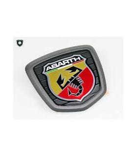 500 Abarth Stemma Logo Ditta Posteriore Satinato Nuovo Originale 735573809