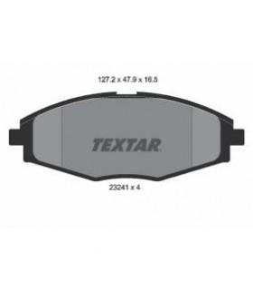 TEXTAR Kit pastiglie freno, Freno a disco  senza contatto segnalazione usura Numero articolo: 2324102