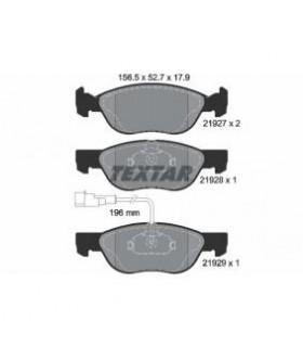 TEXTAR Kit pastiglie freno, Freno a disco  con sensore usura integrato Numero articolo: 2192701