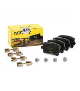 TEXTAR Kit pastiglie freno, con bulloni pinza freno, con accessori Numero articolo: 2448301