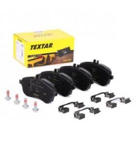 TEXTAR Kit pastiglie freno, Predisposto per contatto segnalazione usura,con accessori Numero articolo: 2430601