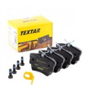 TEXTAR Kit pastiglie freno, Freno a disco  Con contatto segnalazione usura, con bulloni pinza freno Numero articolo: 2398001