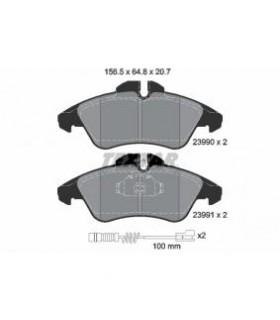 TEXTAR Kit pastiglie freno, Freno a disco  Con contatto segnalazione usura Numero articolo: 2399002