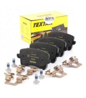 TEXTAR Kit pastiglie freno, con bulloni pinza freno, con accessori