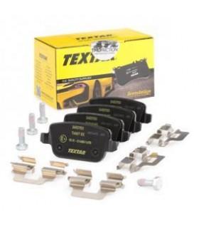 TEXTAR Kit pastiglie freno, con bulloni pinza freno, con accessori Numero articolo: 2453703