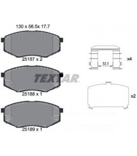 TEXTAR Kit pastiglie 2518701