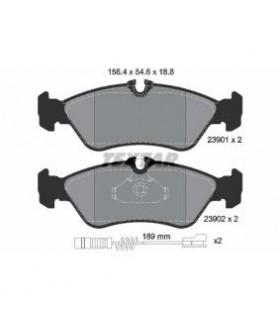 TEXTAR Kit pastiglie freno, Freno a disco  Con contatto segnalazione usura Numero articolo: 2390101