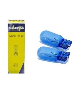 LAMPADE 12V 5W   W2,1x9,5d   BLUE NARVA 17189