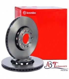 BREMBO COPPIA  Disco freno  Autoventilato, rivestito, con bulloni/viti Numero articolo: 09.9145.11