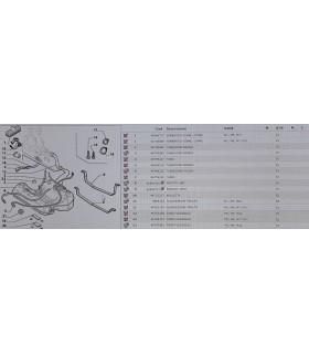 TUBO SERBATOIO FLESSIBILE ORIGINALE FIAT CODICE 46780210 PER LANCIA LYBRA