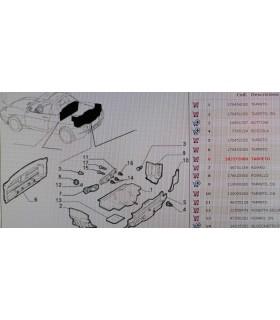 TAPPETO ORIGINALE FIAT BARCHETTA CODICE 183575080