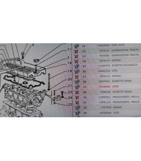VITE BASAMENTO MOTORE LANCIA DELTA EVOLUZIONE THEMA COUPE ALFA 155 FIAT 7710163