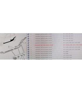 156059058 BATTICALCAGNO ANTERIORE SINISTRO ALFA 147
