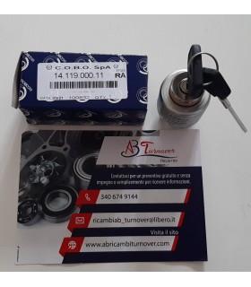 BLOCCHETTO FIAT 124 COMMUTATORE ACCENSIONE COBO 1411900011