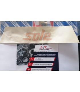 """46555221 SIGLA MODELLO LATERALE """"SOLE"""" FIAT PUNTO 97"""