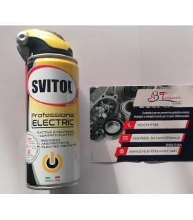 SVITOL 4122 Professional PULITORE CONTATTI ML 400, Trasparente, 400 ml