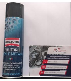 Arexons 8163 Pulitore Freni e Metalli, Trasparente, 500 ml