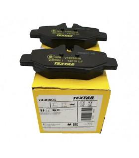 TEXTAR Kit pastiglie freno, Freno a disco  Con contatto segnalazione usura, con bulloni pinza freno Numero articolo: 2400801