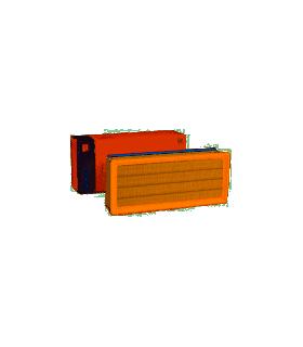 MAHLE ORIGINAL Filtro aria  Cartuccia filtro Numero articolo: LX 2022