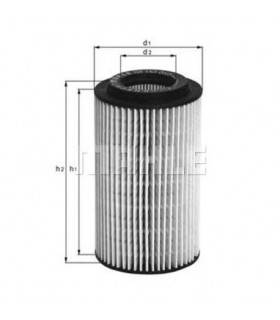 OX153D3 Filtro olio (MARCA-KNECHT,MAHLE)