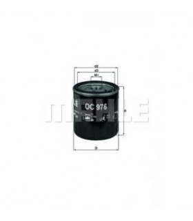 KNECHT Filtro olio  Filtro ad avvitamento Numero articolo: OC 976