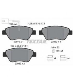 TEXTAR Kit pastiglie freno, Freno a disco   con bulloni  Numero articolo: 2397901