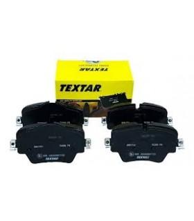 TEXTAR Kit pastiglie freno  Predisposto per contatto segnalazione usura, con bulloni pinza freno Numero articolo: 2561701