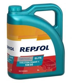 Olio motore per auto Repsol RP141R55 Elite Evolution Power 4 5W30, 5 L