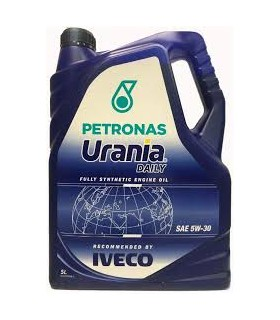 PETRONAS Olio Motore Per Veicoli Industriali Low Saps - Urania Fe Ls Tanica Da Lt. 5
