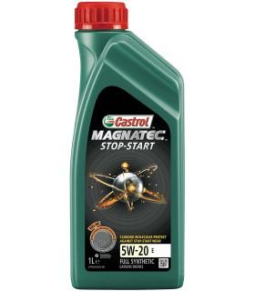 Olio Motore Auto - Castrol Magnatec Stop Start 5W 20 E - 1 litri 100% Sintetico
